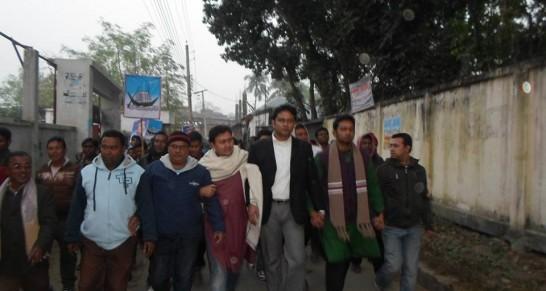 দশম জাতীয় সংসদ নির্বাচন, ২০১৪ এর প্রচারণা - ভড়ুয়াপাড়া গ্রাম | 10th Parliament Election Campaign -Kumarkhali Sadar, Powroshova