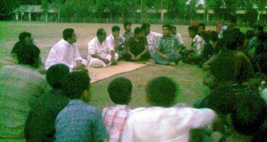 দিন বদলের আড্ডা, বাঁশগ্রাম বাজার । din bodoler adda -banshgram bazar