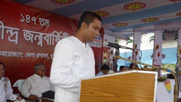 Rabindranath Tagore's Birthday Celebration @ Shelaidah, Kumarkhali, Kushtia | কবিগুরু রবীন্দ্রনাথ ঠাকুরের জন্ম জয়ন্তী পালনের অনুষ্ঠানে