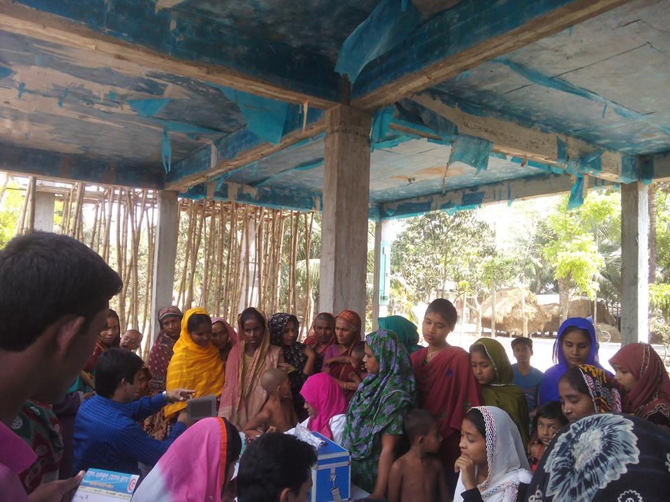 বাঁশগ্রাম মাসিক হেলথ ক্যাম্প (২) | Banshgram Health Camp2