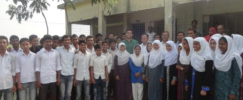 Sufi Faruq Visit Shaota School