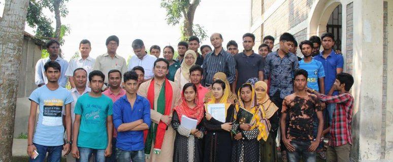 সুফি ফারুক এর পেশা পরামর্শ সভা, ধোকড়াকোল ডিগ্রি কলেজ, আমবাড়ীয়া ইউনিয়ন, খোকসা, কুষ্টিয়া | Sufi Faruq's Career Counselling for Rural Youth, Dhokrakol Degree College, Ambaria Union, Khoksa, Kushtia, 30.10.2017
