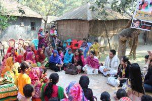 শেখ হাসিনা কমিউনিটি সেলাই কেন্দ্রের উদ্বোধন করলেন তারকারা