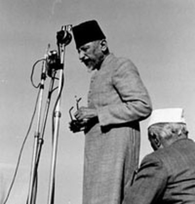 Addressing to the Indian Muslims from Jama Masjid after the partition