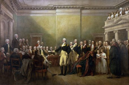 Resignation Speech – George Washington – December 23, 1783