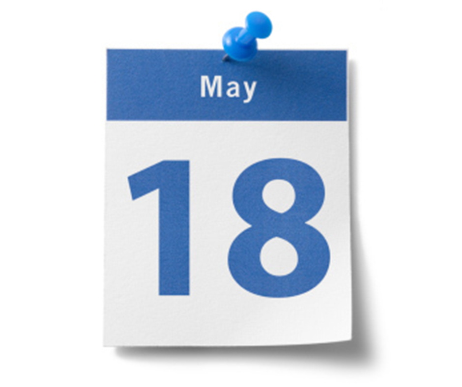 ইতিহাসের এই দিনে : ১৮ মে