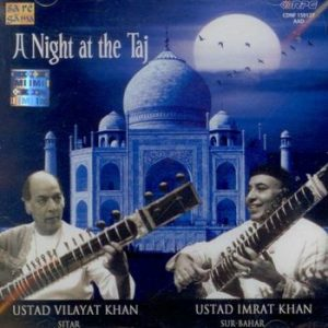 A Night at Taj- Chandni-Kedar - Cover - Ust. Vilayet Khan & Ust. Imrat Khan