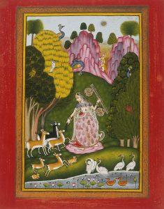 টোড়ি রাড়ের রাগমালা পেইন্টিং | Ragmala Painting of Raga Todi