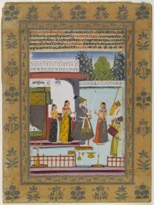 Ragmala Painting of Malkauns Raga
