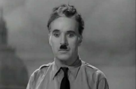 Speech from Charlie Chaplin's – 'The Great Dictator'
