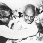 Bangabandhu with poet Kazi Nazrul Islam : কাজী নজরুল ইসলামের সাথে বঙ্গবন্ধু