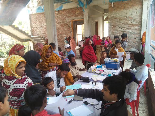 বাঁশগ্রাম হেলথ ক্যাম্প | Health Camp Banshgram