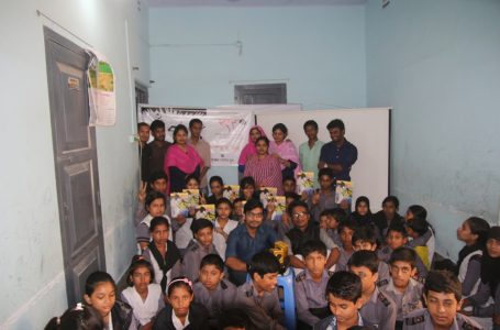 """Read Mujib"" program in Srijan Public School, Kushtia Sadar, Kushtia."