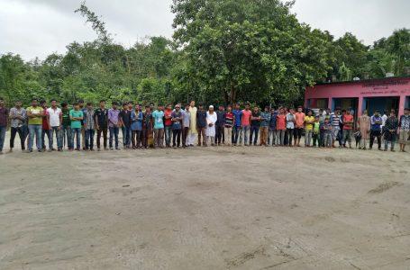 রায়পুর সরকারী প্রাথমিক বিদ্যালয়ে পেশা পরামর্শ প্রস্তুতি সভা