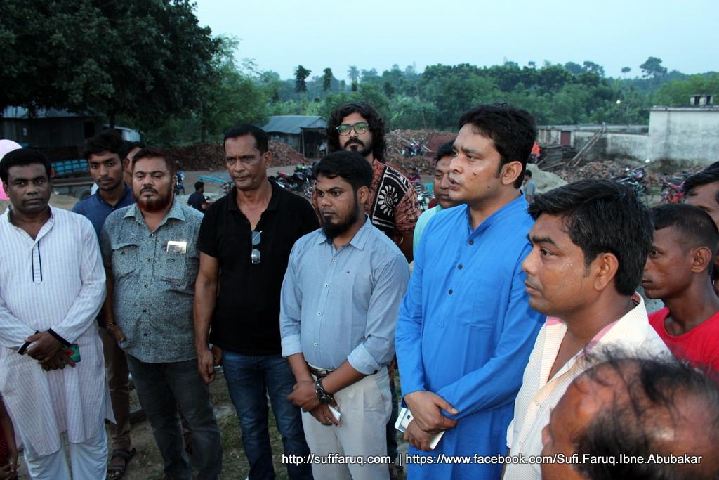 Kumarkhali Eco Park CC Camera Inaugurated of Sufi Faruq 6 কুমারখালীর নির্মাণাধীন ইকো পার্কে সিসি ক্যামেরা উদ্বোধন করলাম।