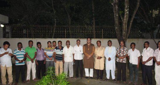 শেখ কামাল সাংস্কৃতিক জোটের সদস্যদের সাথে সুফি ফারুক এর মত বিনিময়, কুমারখালী খোকসা, কুষ্টিয়া | Sufi Faruq's exchange views with Sheikh Kamal Cultural Alliance, Kumarkhali, Khoksa, Kushtia