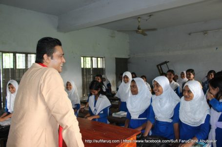 Sufi Faruq visited Dhokrakol Secondary School and exchanged views with Teachers & Students