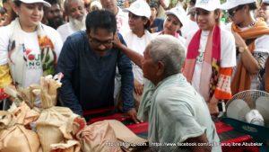 Flood Affected Areas, Relief Distribution, Youth Bangla Cultural Forum, Rongpur | ইয়ুথ বাংলা কালচারাল ফোরাম এর পক্ষ থেকে রংপুরে বন্যার্তদের মাঝে ত্রাণ বিতরণ