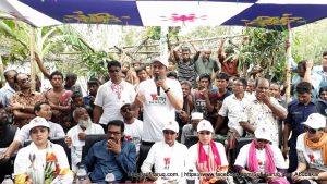 "YBCF Rongpur Programs 86 ""শেখ হাসিনার নেতৃত্বে আমাদের উন্নয়ন"" শীর্ষক দেশব্যাপী প্রচারণা"