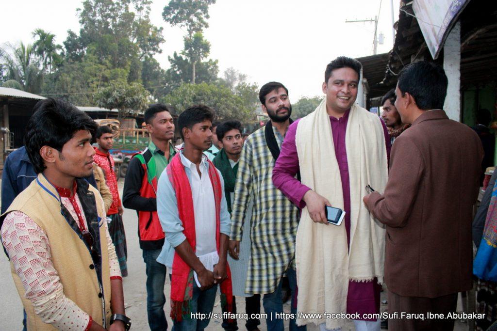 Panti Bazar Panti Kumarkhali 19.01.2018 18 সুফি ফারুক এর গণসংযোগ, উন্নয়ন আলোচনা ও শেখ হাসিনার পক্ষে ভোট প্রার্থনা - পান্টি বাজার, পান্টি ইউনিয়ন, কুমারখালী, কুষ্টিয়া।