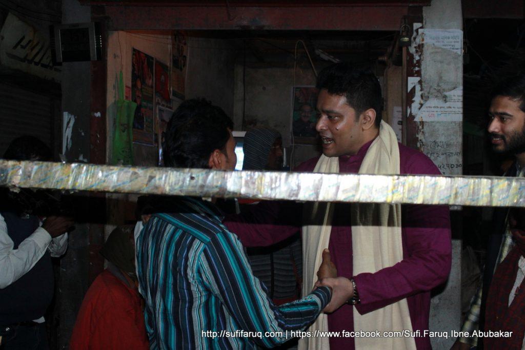 Panti Bazar Panti Kumarkhali 19.01.2018 206 সুফি ফারুক এর গণসংযোগ, উন্নয়ন আলোচনা ও শেখ হাসিনার পক্ষে ভোট প্রার্থনা - পান্টি বাজার, পান্টি ইউনিয়ন, কুমারখালী, কুষ্টিয়া।