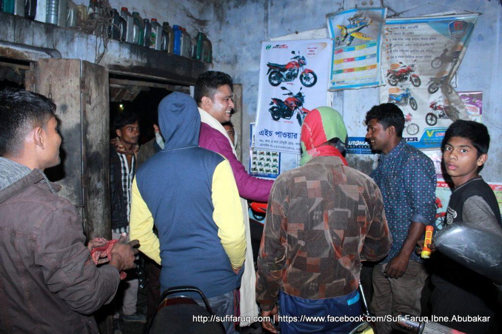 Panti Bazar Panti Kumarkhali 19.01.2018 219 সুফি ফারুক এর গণসংযোগ, উন্নয়ন আলোচনা ও শেখ হাসিনার পক্ষে ভোট প্রার্থনা - পান্টি বাজার, পান্টি ইউনিয়ন, কুমারখালী, কুষ্টিয়া।