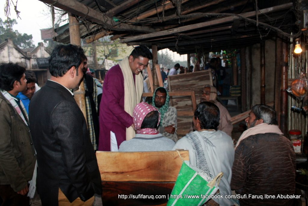 Panti Bazar Panti Kumarkhali 19.01.2018 30 সুফি ফারুক এর গণসংযোগ, উন্নয়ন আলোচনা ও শেখ হাসিনার পক্ষে ভোট প্রার্থনা - পান্টি বাজার, পান্টি ইউনিয়ন, কুমারখালী, কুষ্টিয়া।