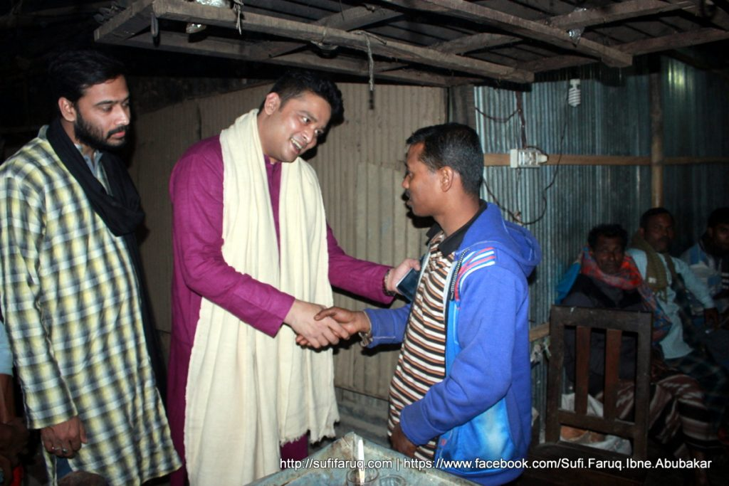 Panti Bazar Panti Kumarkhali 19.01.2018 34 সুফি ফারুক এর গণসংযোগ, উন্নয়ন আলোচনা ও শেখ হাসিনার পক্ষে ভোট প্রার্থনা - পান্টি বাজার, পান্টি ইউনিয়ন, কুমারখালী, কুষ্টিয়া।