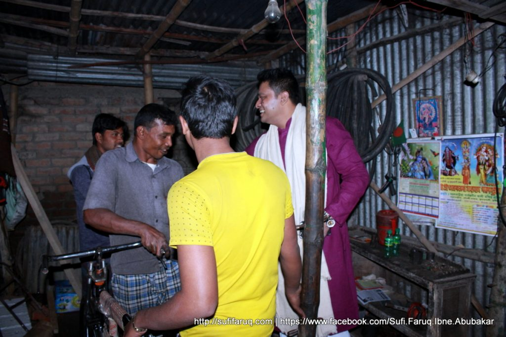 Panti Bazar Panti Kumarkhali 19.01.2018 41 সুফি ফারুক এর গণসংযোগ, উন্নয়ন আলোচনা ও শেখ হাসিনার পক্ষে ভোট প্রার্থনা - পান্টি বাজার, পান্টি ইউনিয়ন, কুমারখালী, কুষ্টিয়া।