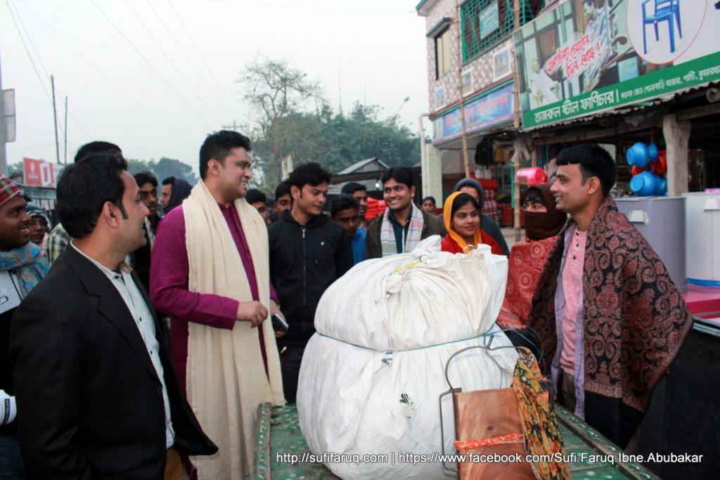 Panti Bazar Panti Kumarkhali 19.01.2018 52 সুফি ফারুক এর গণসংযোগ, উন্নয়ন আলোচনা ও শেখ হাসিনার পক্ষে ভোট প্রার্থনা - পান্টি বাজার, পান্টি ইউনিয়ন, কুমারখালী, কুষ্টিয়া।