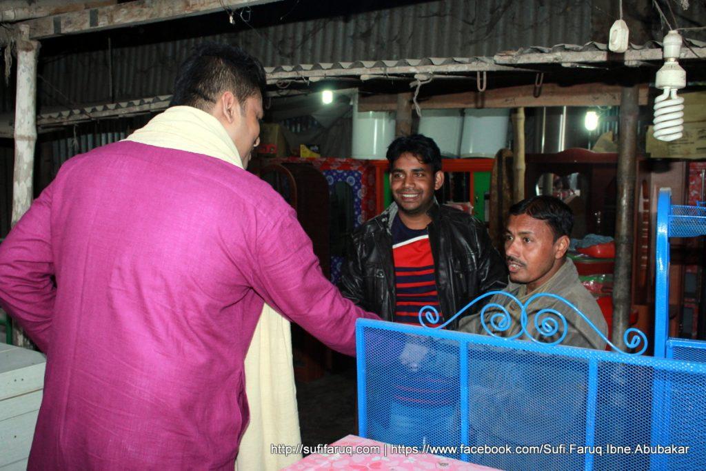 Panti Bazar Panti Kumarkhali 19.01.2018 53 সুফি ফারুক এর গণসংযোগ, উন্নয়ন আলোচনা ও শেখ হাসিনার পক্ষে ভোট প্রার্থনা - পান্টি বাজার, পান্টি ইউনিয়ন, কুমারখালী, কুষ্টিয়া।