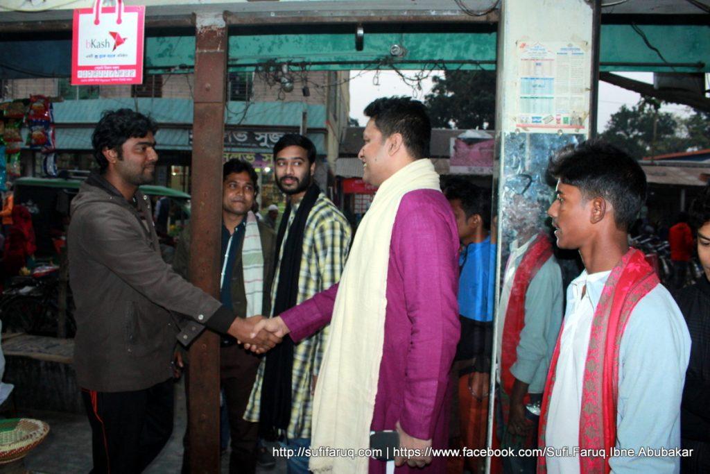 Panti Bazar Panti Kumarkhali 19.01.2018 66 সুফি ফারুক এর গণসংযোগ, উন্নয়ন আলোচনা ও শেখ হাসিনার পক্ষে ভোট প্রার্থনা - পান্টি বাজার, পান্টি ইউনিয়ন, কুমারখালী, কুষ্টিয়া।