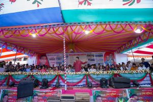 """নরসিংদী ৫ (রায়পুরা) আসনে """"শেখ হাসিনার নেতৃত্বে আমাদের উন্নয়ন"""" শীর্ষক প্রচারণা"""
