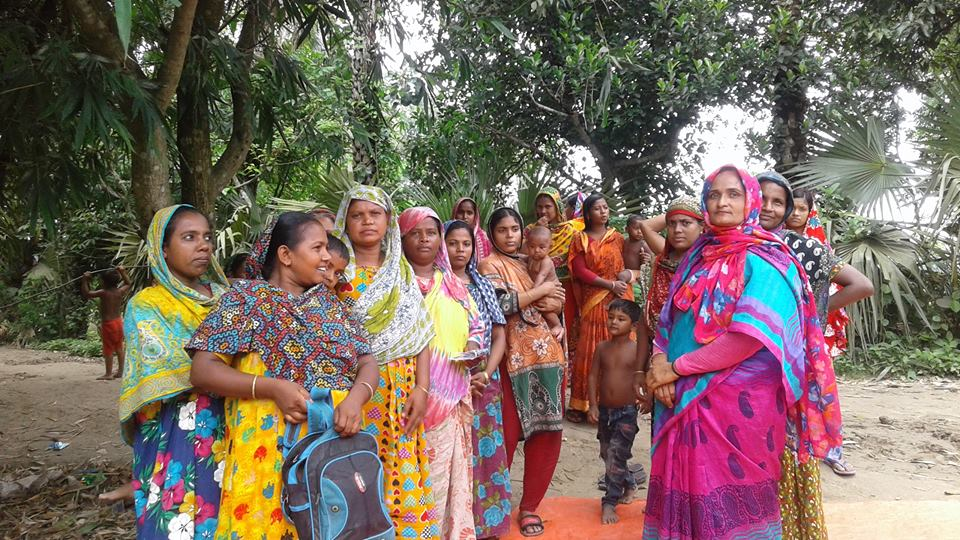 রাধাগ্রামে নারীদের সচেতন করতে সুফি ফারুকের পরামর্শ সভার উদ্যোগ