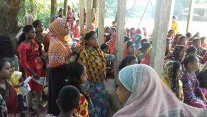 "SheikhPara bagulatup kushtia 1 Bagulat Union, Village Sheikh Para - Inauguration of another batch of ""Free Tailor Training"" under Sufi Farooq's ""Career Consultation Program"""